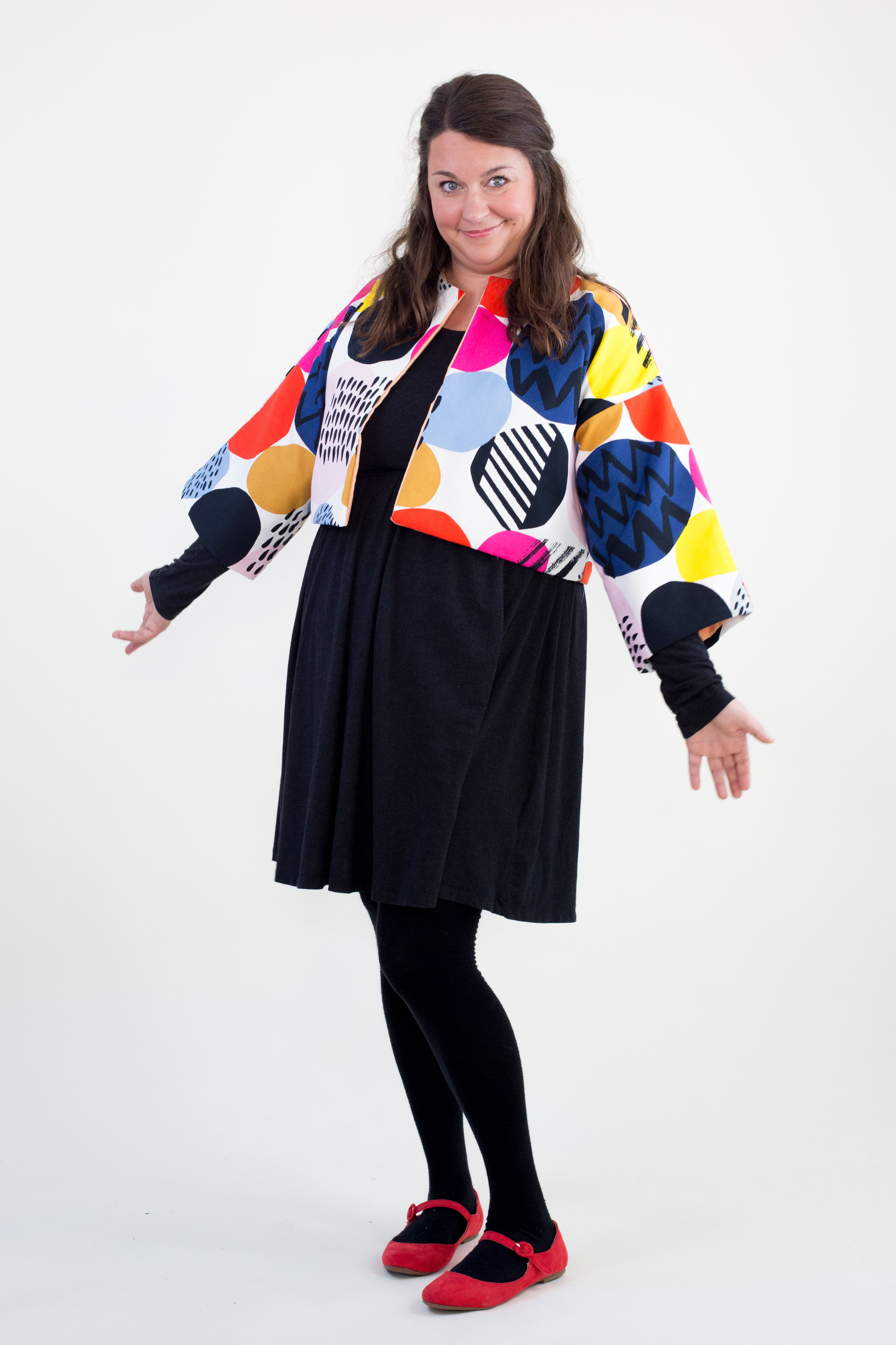 skandimama karoline hughes ikea print jacket