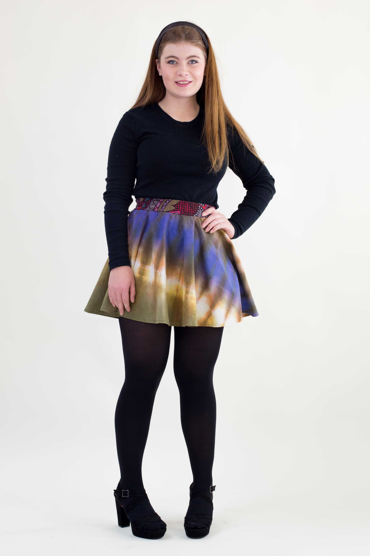 skandimama karoline hughes short circle skirt