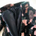 Fake fur frakke DIY