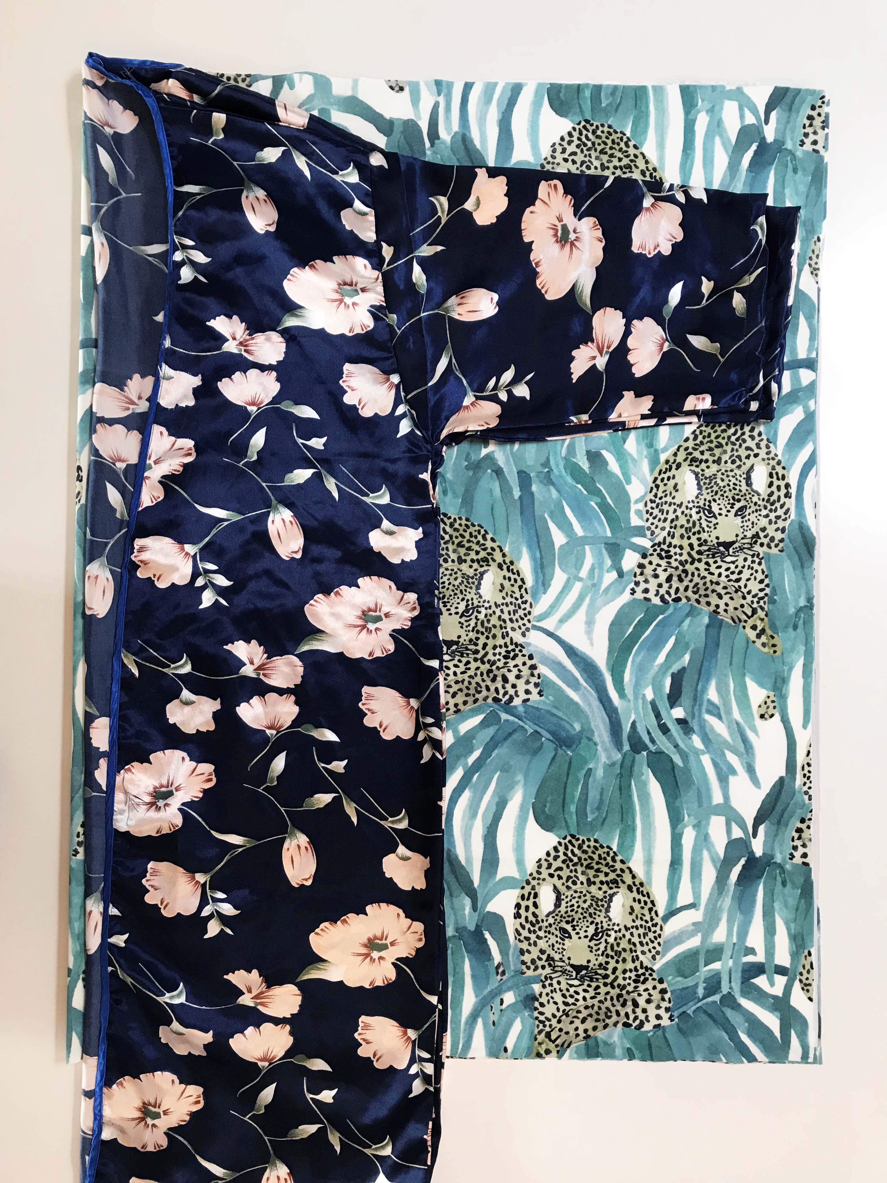 velour Kimono DIY