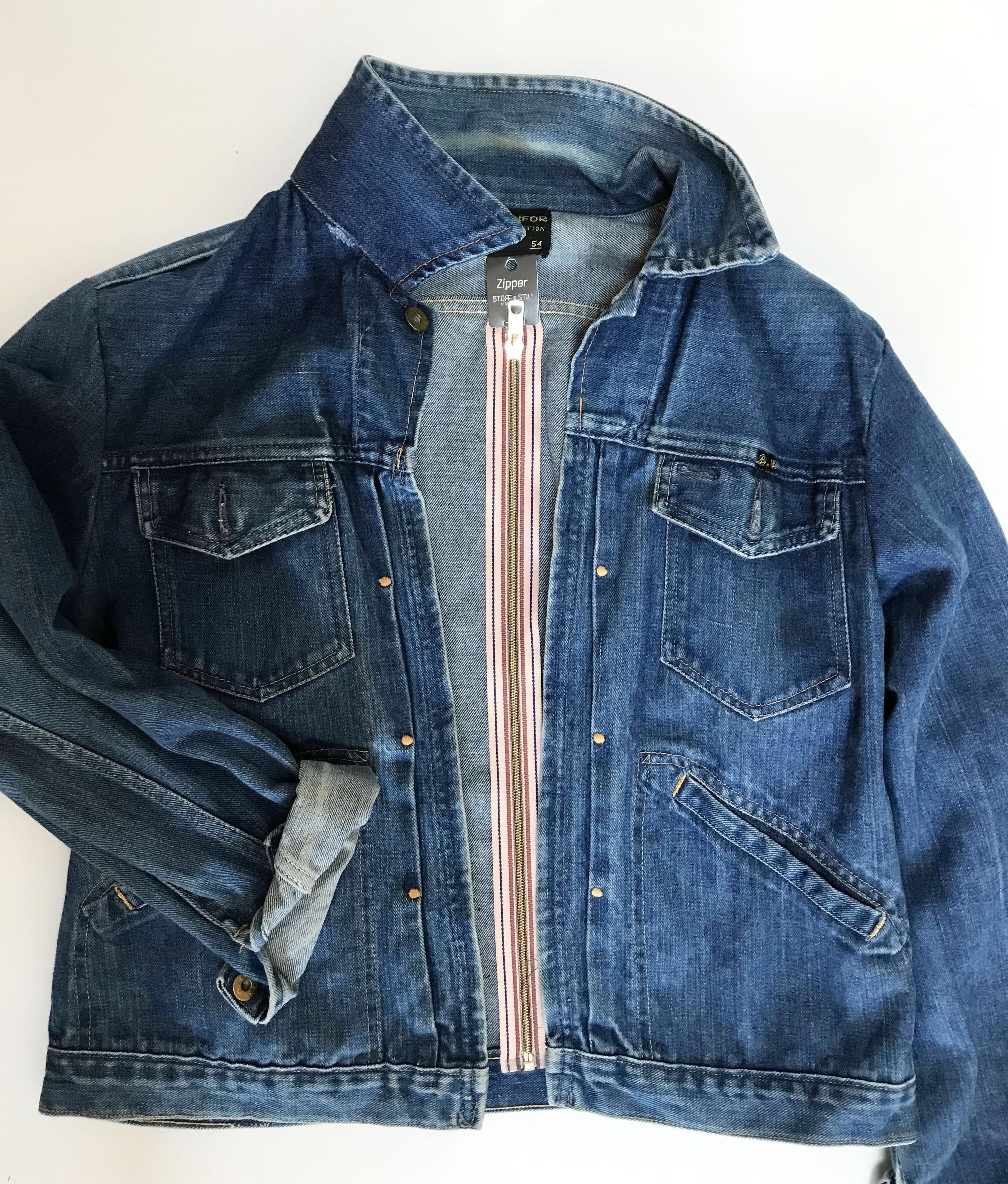 The old denim jacket that never dies