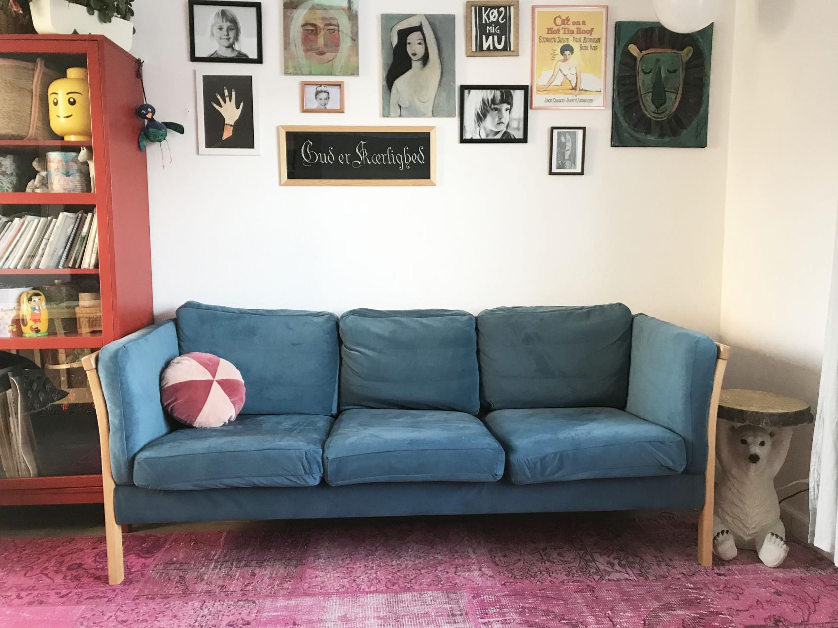 ombetræk sofa velour