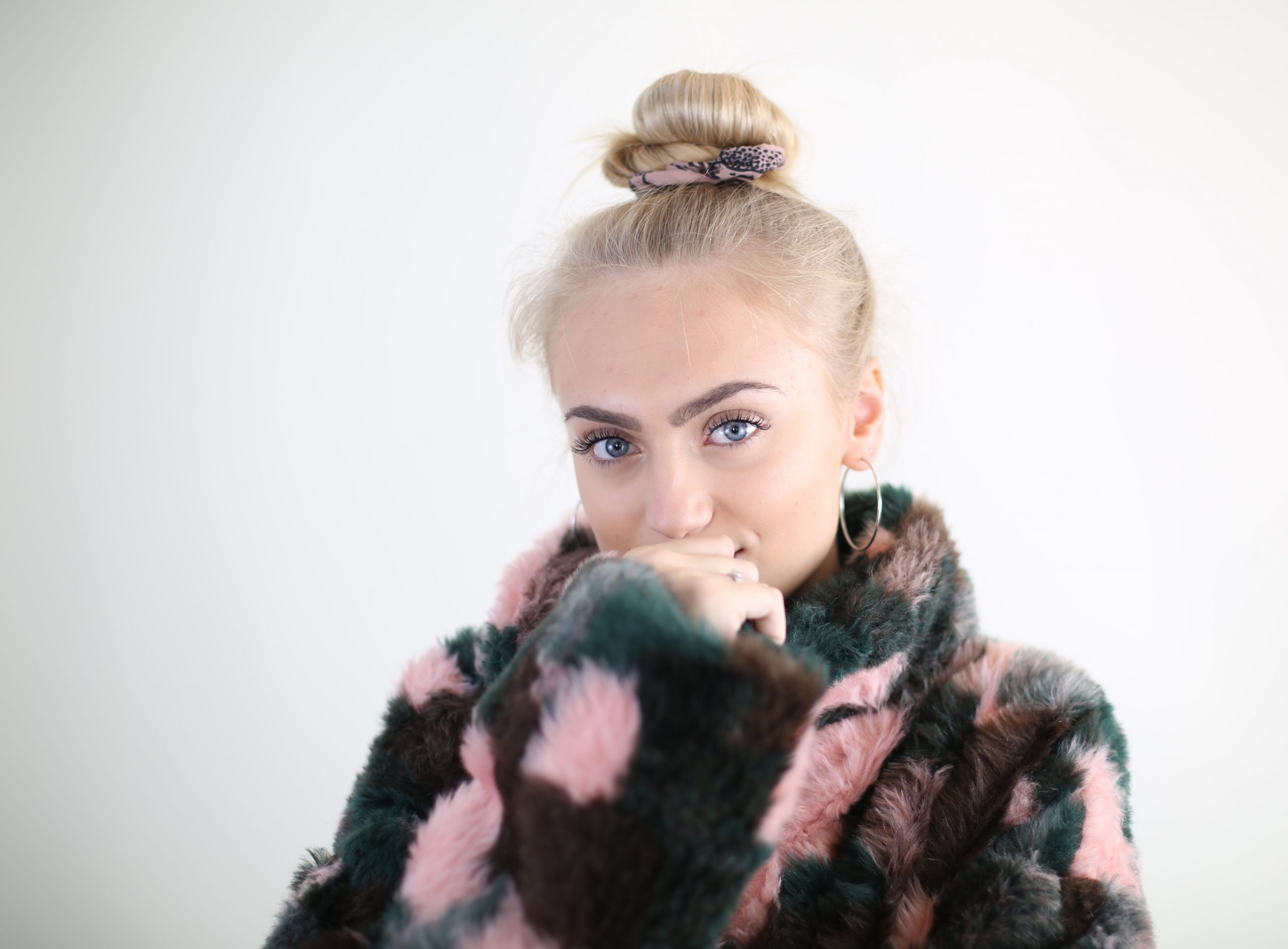 DIY faux fur coat