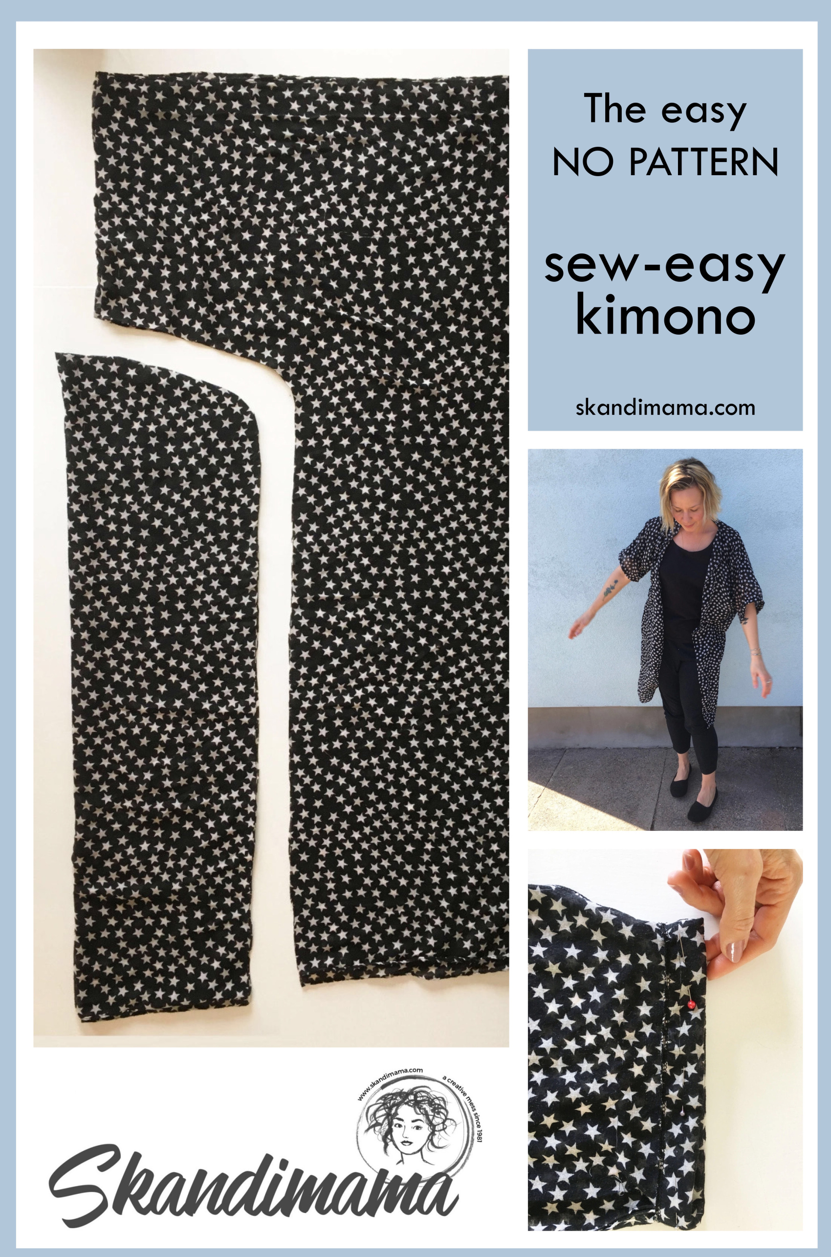 easy kimono DIY