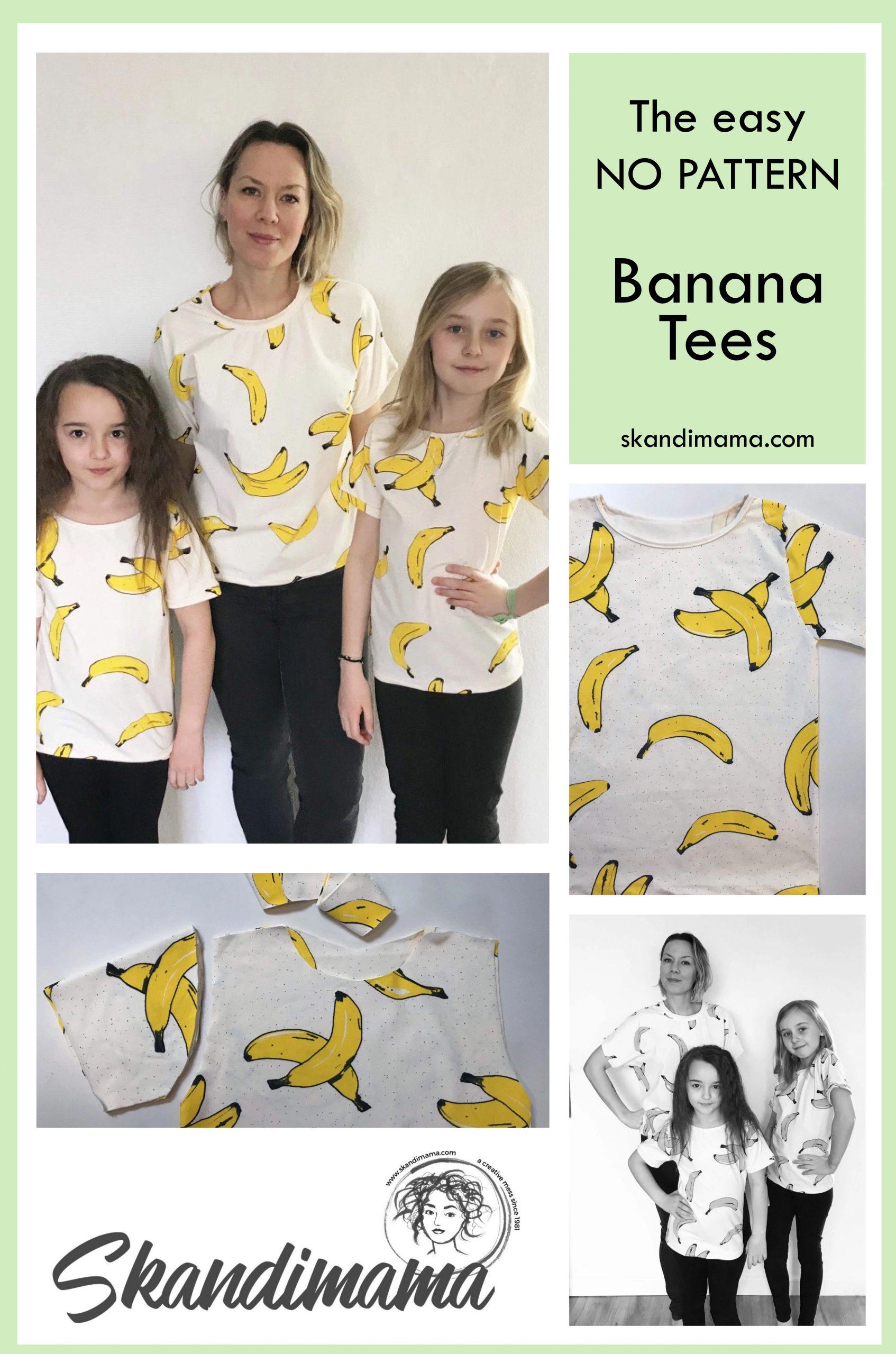 Bananprint tee