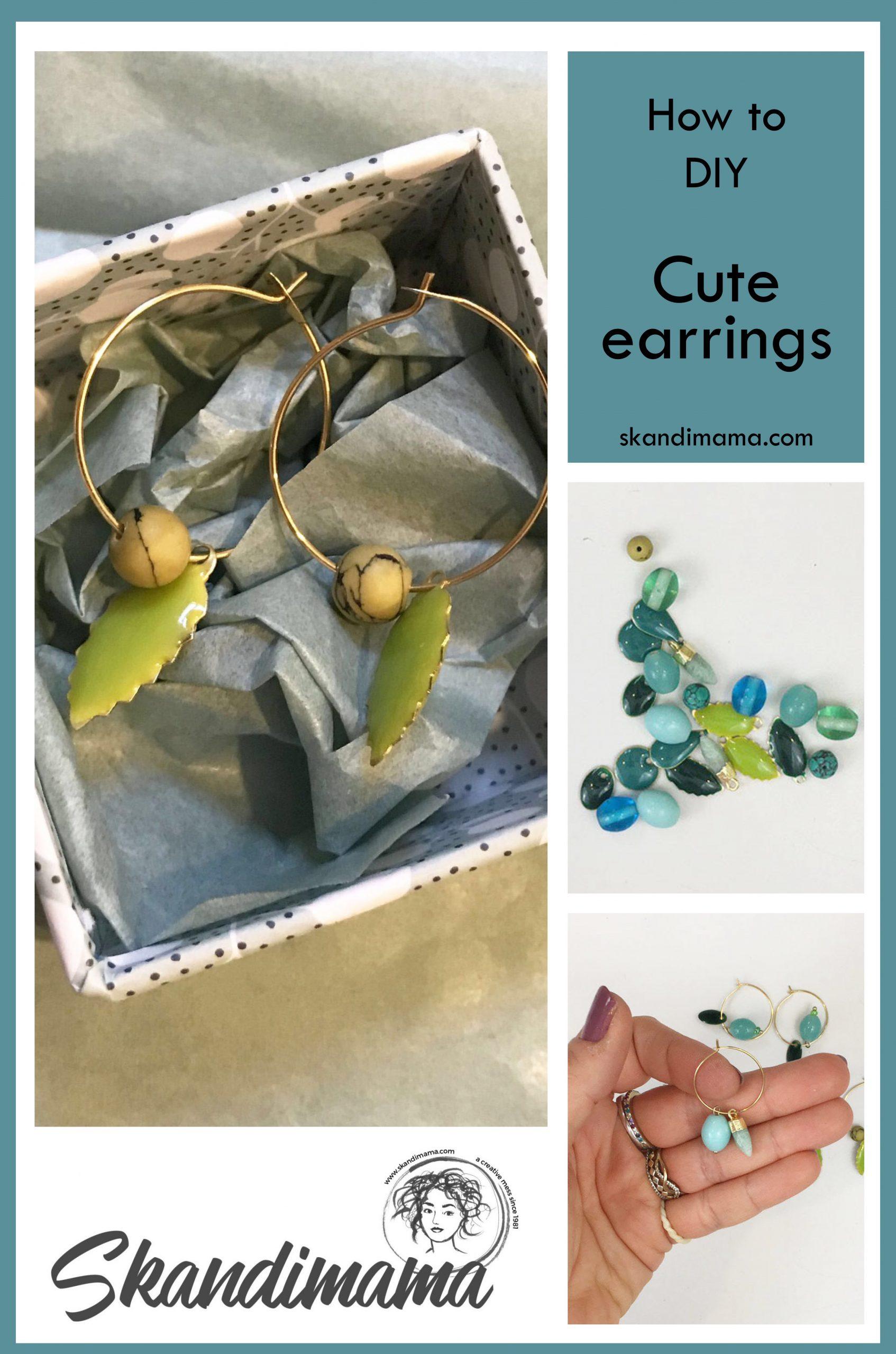 DIY beautiful earrings