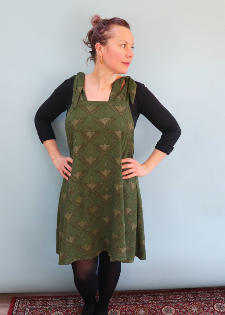easy pinafore dress