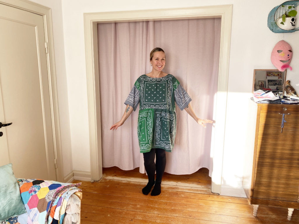 bandana dress diy