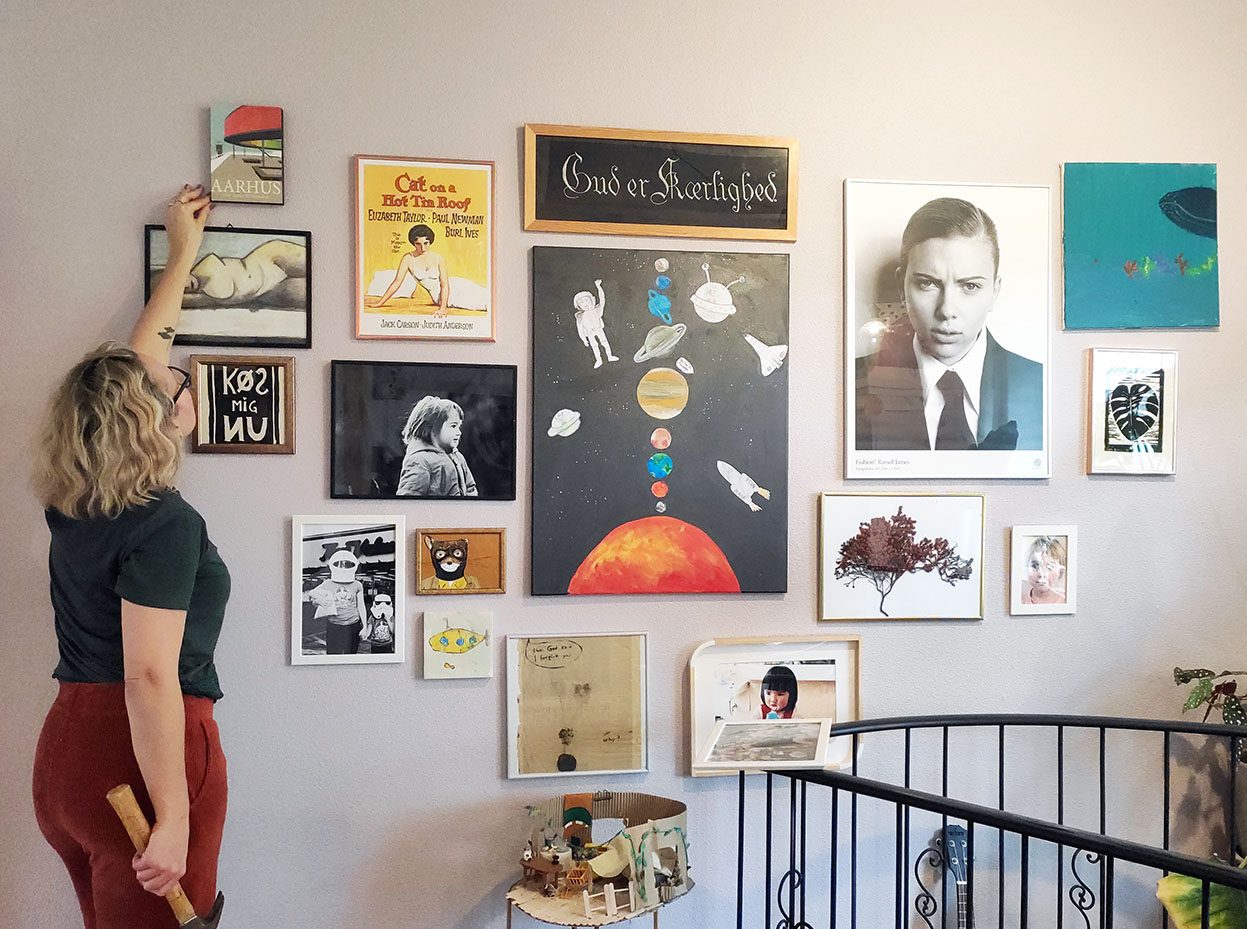 create the perfect gallery wall