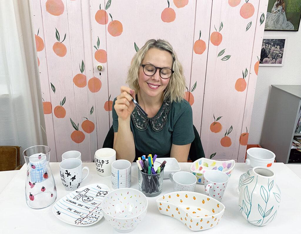 Porcelain markers Project