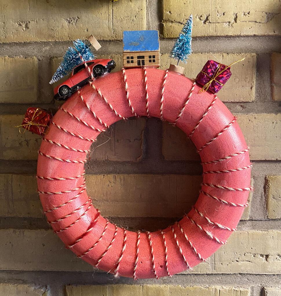 Homemade Christmas wreaths DIY
