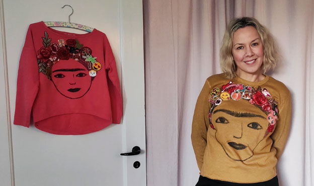 Frida Kahlo fashion DIY