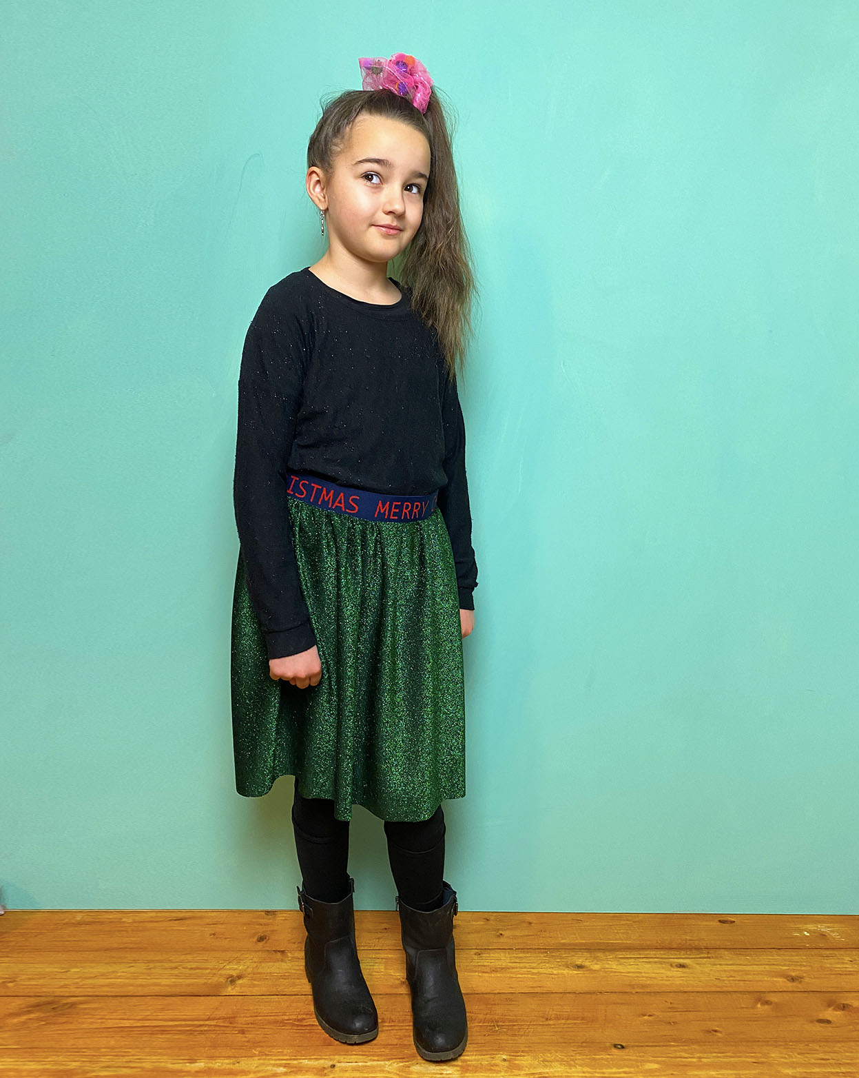 How to make a super easy skirt
