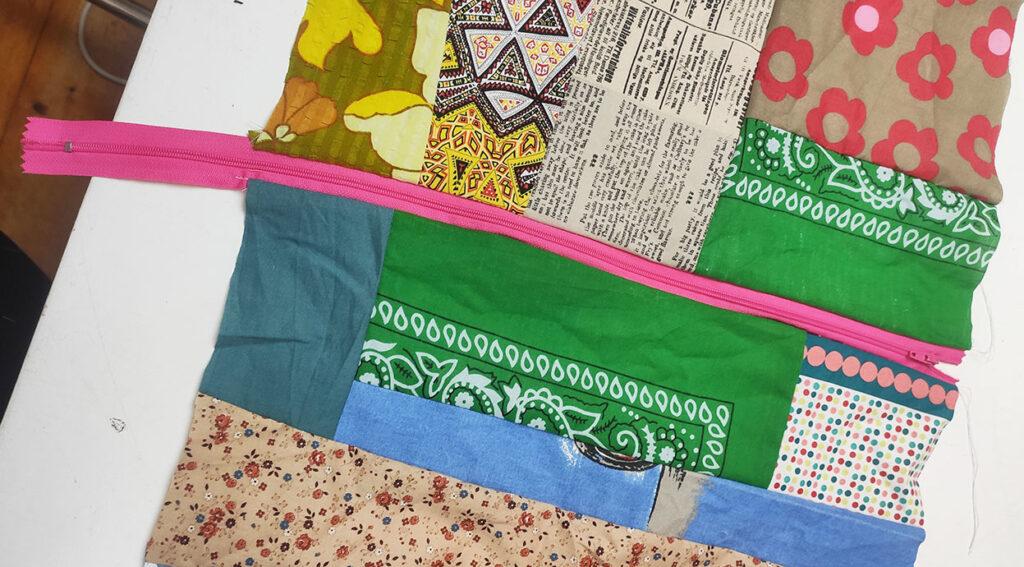 Scrap patchwork project