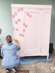 amazing wardrobe paint makeover