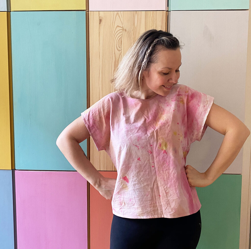 Easy sew woven cotton top