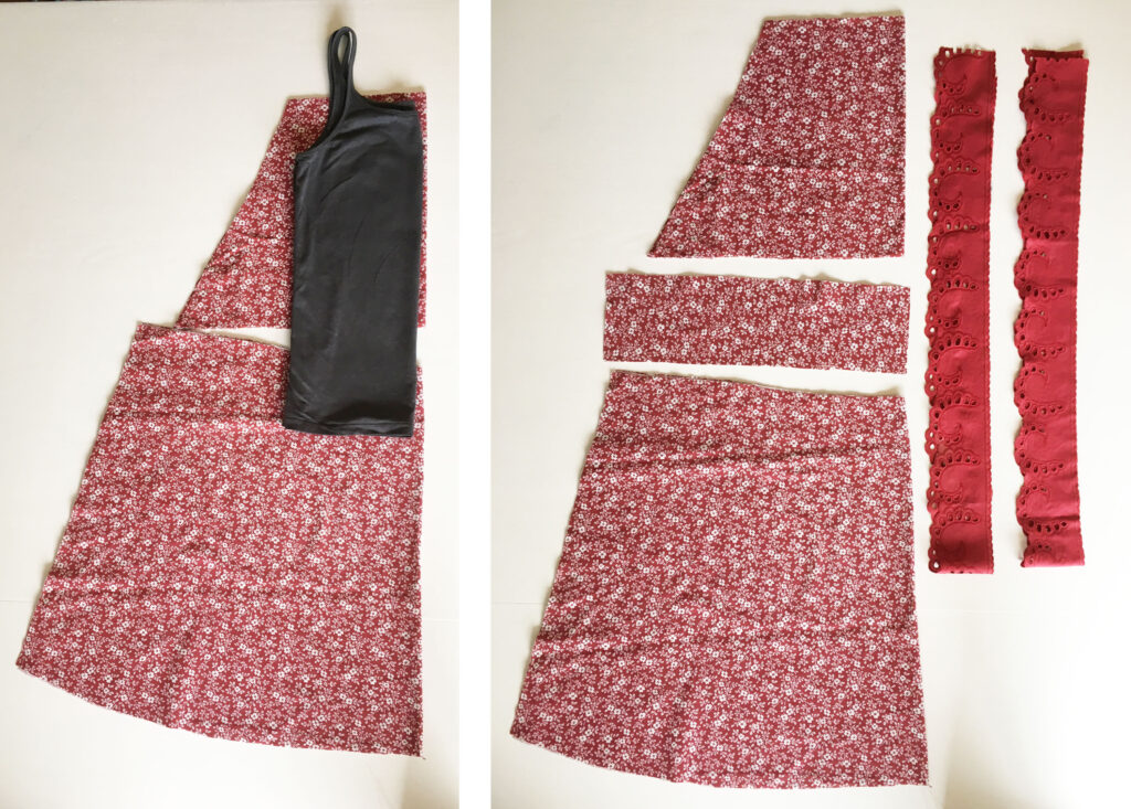 Apron dress DIY