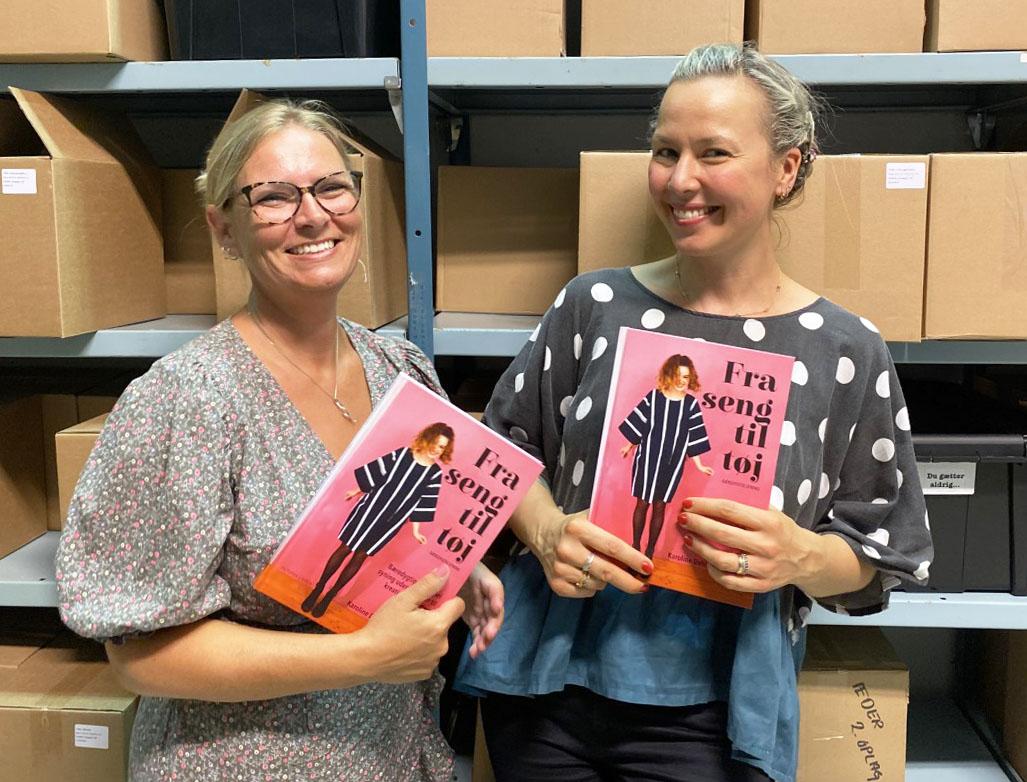"""""""Fra seng til tøj"""" – My new sewing book"""